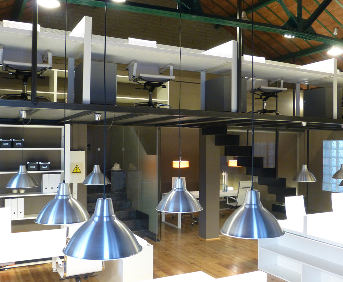 Loftcowork espais coworking - Disenador de interiores barcelona ...